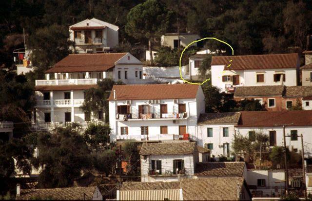 little house gaios paxos greece sleeps 2 4. Black Bedroom Furniture Sets. Home Design Ideas